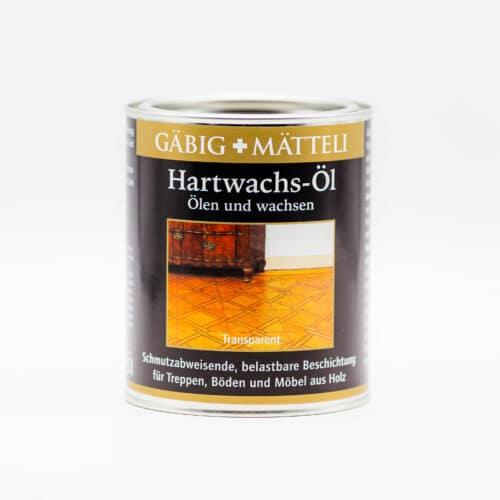Holzöl und Wachs