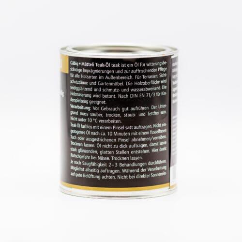 Gäbig + Mätteli Teak Öl