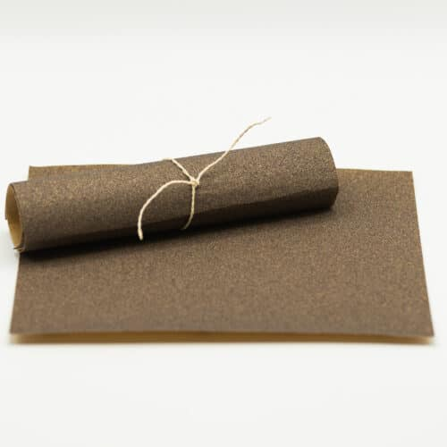 Schleifpapier Kreidefarbe