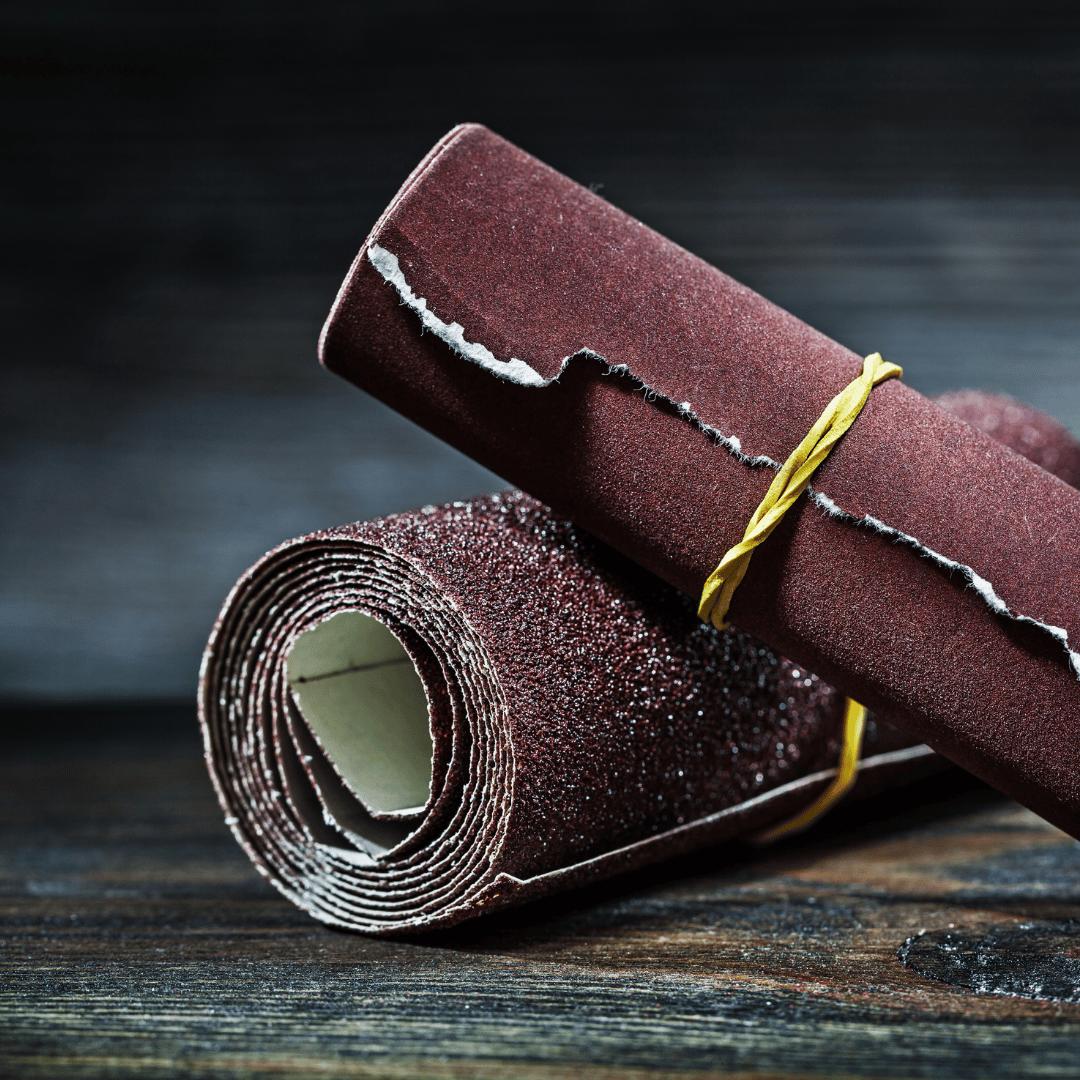 Sschleifpapier für Kreidefarbe