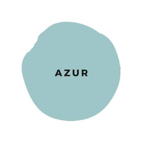 Öko Kreidefarbe Azur