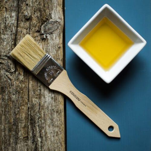 Pinsel für Holzöl und Beizen